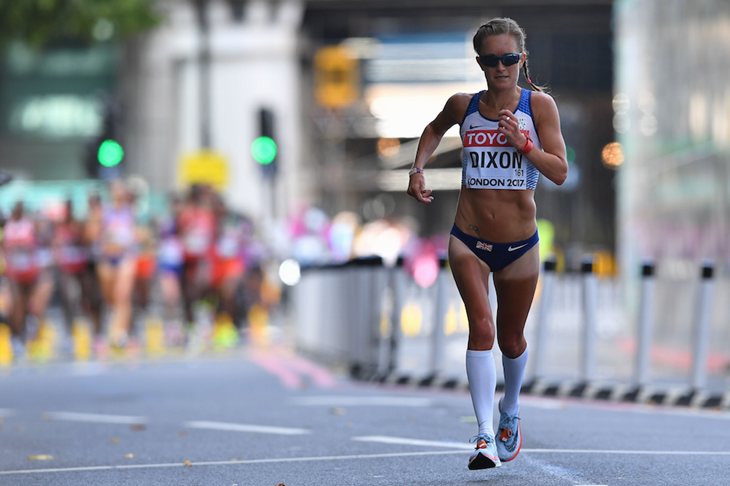 Aly Dixon, Womens marathon, marathon, Sunderland, Lead, London 2017, IAAF, World Athletics Championships.