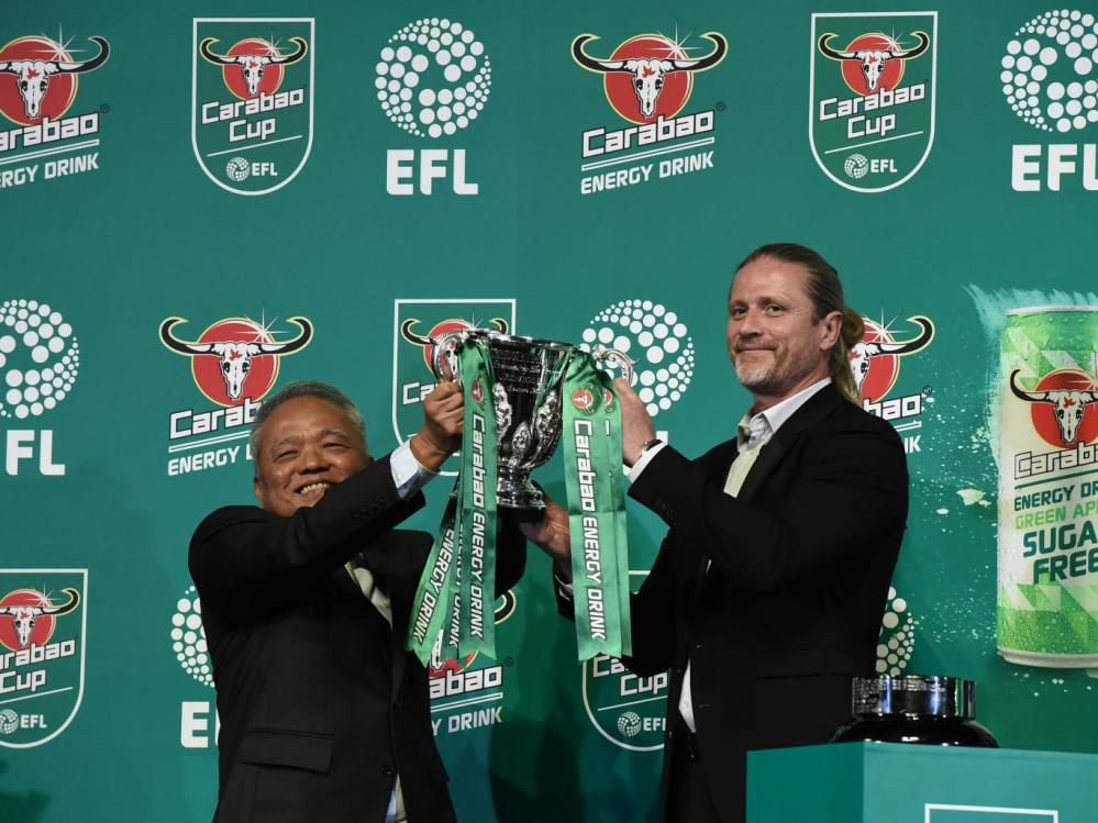 Carabao Cup, League Cup, Energy Drink, Sponsorship, Draw, Charlton.