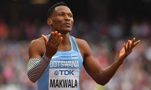 Isaac Makwala. 200m, 400m, noravirus, disqualification, medical, IAAF, World Athletics Championships, London 2017.