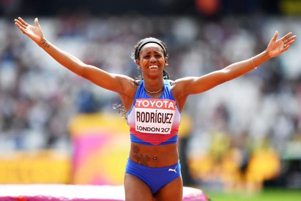 Yorgelis Rodriguez, personal best, heptathlon, high jump, IAAF ,World athletics Championships, London 2017
