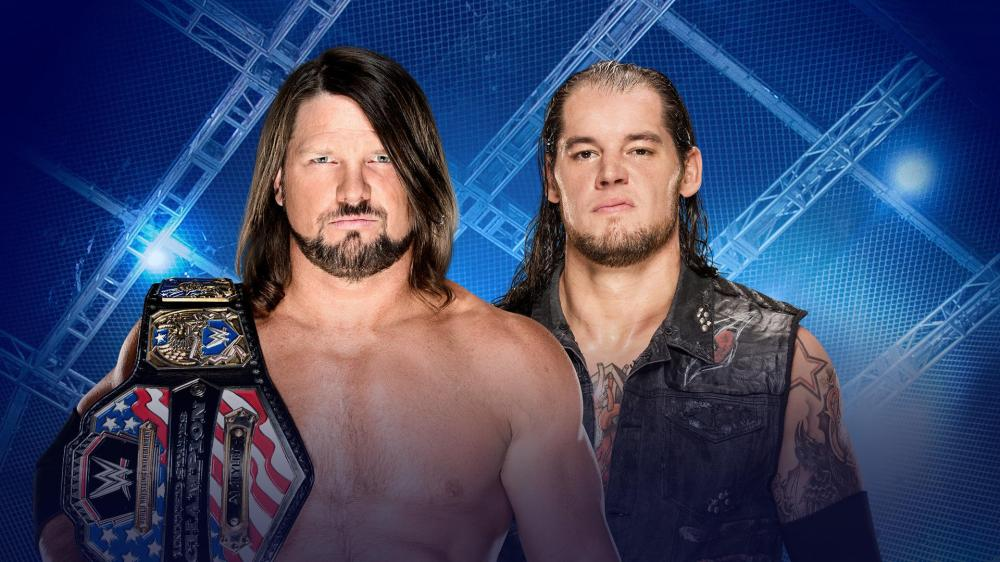 WWE, Hell in a Cell, 2017, AJ Styles, Baron Corbin, United States Championship