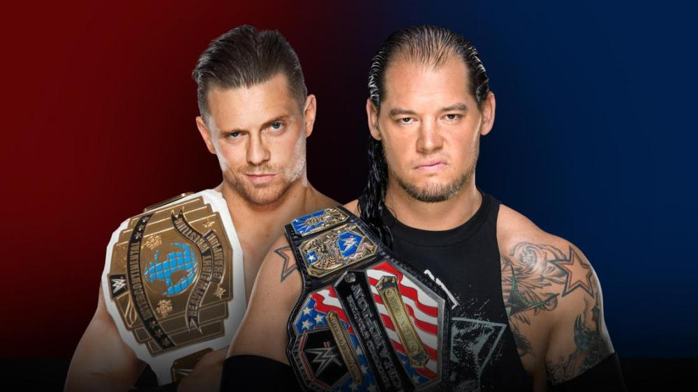 The Miz, Baron Corbin, United States Championship, Intercontinental Championship, Raw, SmackDown, WWE, Survivor Series, Wrestling