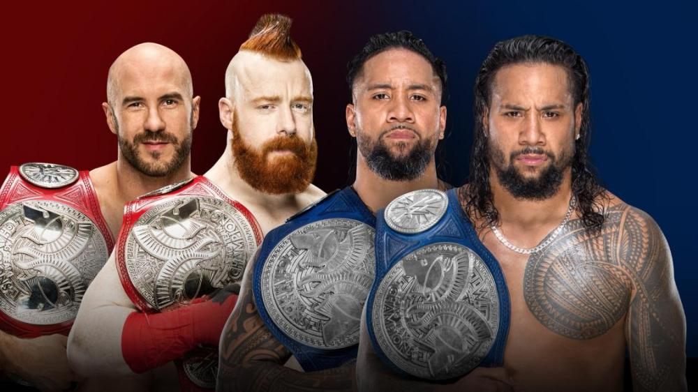 The Bar, Sheamus, Cesaro, The Usos, Jay Uso, Jimmy Uso, WWE, Raw, SmackDown, Survivor Series, Wrestling, Raw Tag Team Championships, SmackDown Tag Team Championships