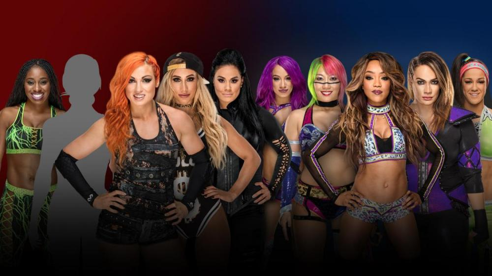 traditional 5-on-5 Survivor Series elimination match match, WWE, Survivor Series, Raw, SmackDown, Becky Lynch, Natalya, Naomi, Carmella, Tamina, Alicia Fox, Nia Jax, Bayley, Sasha Banks, Asuka
