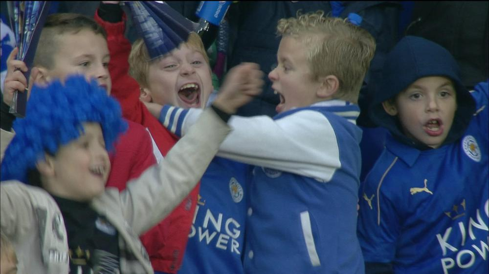 Leicester City, Football fans, young football fans, fans leaving early